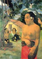Гоген Поль ( Paul Gauguin ) - Куда ты идешь? (E haere oe i hia?)