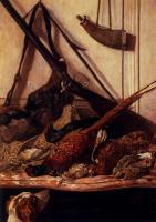 картина Охотничий трофей :: Клод Моне, плюс статья про подарок подруге