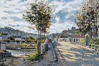 пейзаж Сена возле Буживаля :: Клод Моне