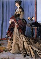 Моне Клод (Claude Monet) - Портрет Мадам Годиберт