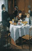 Завтрак :: Клод Моне, описание картины