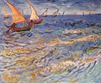 Van Gogh - Море в Сент-Мари