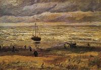 Van Gogh - Пляж в Схевенингене