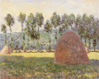 Моне Клод (Claude Monet) - Стог сена около Живерни