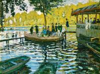 Claude Monet - Лягушатник