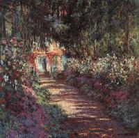Моне Клод (Claude Monet) - Сад в цвету