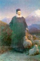 Aivazovsky, Ivan Constantinovich - Католикос Хримян в окрестностях Эчмиадзина