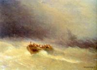 Айвазовский, Иван Константинович (  Aivazovsky, Ivan Constantinovich ) - Кораблекрушение