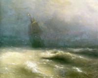 Aivazovsky, Ivan Constantinovich - Буря у берегов Ниццы