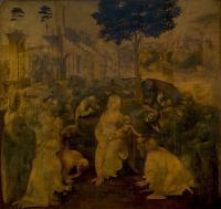 da Vinci Leonardo - Поклонение волхвов