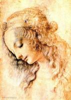 da Vinci Leonardo - Штудия головы мадонны