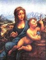 da Vinci Leonardo - Мадонна с мотовилом