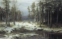 Шишкин Иван ( Ivan Shishkin ) - Первый снег