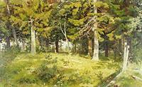 Шишкин Иван ( Ivan Shishkin ) - Поляна в лесу