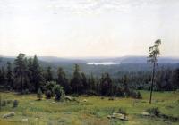 Шишкин Иван ( Ivan Shishkin ) - Река Кама вдали