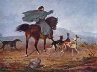 Жанровые сцены - Выезд на охоту