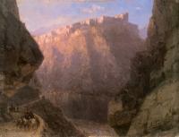 Айвазовский, Иван Константинович (  Aivazovsky, Ivan Constantinovich ) - Дарьяльское ущелье