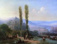 Aivazovsky, Ivan Constantinovich - Вид Тифлиса