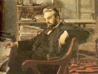 Vrubel Michail - Портрет Константина Дмитриевича Арцыбушева