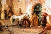 Арабский восток - Сцена в Марокко