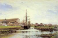 Море в живописи ( морские пейзажи, seascapes ) - Трепор. Нормандия
