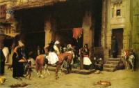 Архитектура - Сцена на улице Каира