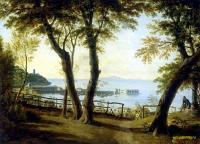 Море в живописи ( морские пейзажи, seascapes ) - Приморский вид в Италии