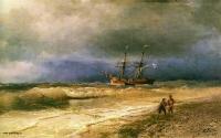 Море в живописи ( морские пейзажи, seascapes ) - Прибой