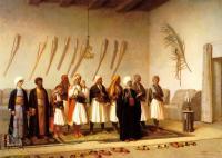 Арабский восток - Молитва в доме