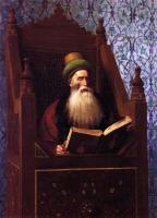 Арабский восток - Муфтий, читающий молитву