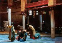 Арабский восток - Молитва в мечети