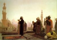 Арабский восток - Молящиеся на крыше