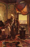 Арабский восток - Куритель кальяна