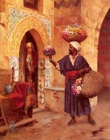 Арабский восток - Торговец цветами