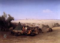 Арабский восток - Арабский лагерь под оливами