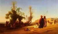 Арабский восток - Остановка возле оазиса