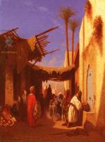 Арабский восток - Улица в Дамаске ( 1 часть диптиха )