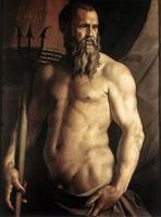 Картины ню, эротика в шедеврах живописи - Портрет Андреа Дориа в роли Нептуна