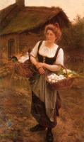 Портреты - Сельская девушка