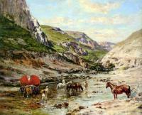 Пейзаж ( пейзажная живопись ) - Отдых возле реки