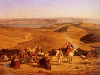 Арабский восток - Лагерь в пустыне