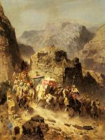 Арабский восток - Караван на перевале