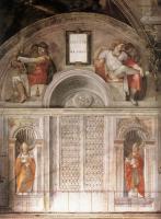 Люнеты (пророки и папы)  :: Микеланжело ( фрески )