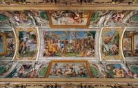 Фрески, монументальная живопись, роспись стен - Потолочные фрески галереи Фарнезе