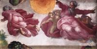 Сотворение солнца, луны и планет :: Микеланджело Буаноротти ( Италия )
