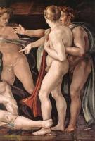 Опьянение Ноя ( деталь ) :: Микеланджело Буаноротти, фреска