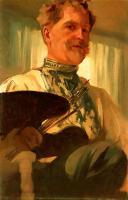 Alfons Maria Mucha - Альфонс Муха ( Автопортрет)