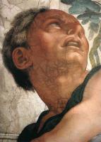 Фрески, монументальная живопись, роспись стен - Иона ( деталь )