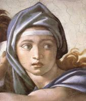 ����������� ������� :: ������������ ���������� ( ������ ) [ The Delphic Sibyl (detail) ]