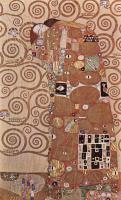 Объятия ( фрагмент картона ) :: Густав Климт (Австрия )
